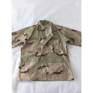 Other - Desert Camo Jacket US Air Force Large Combat Coat